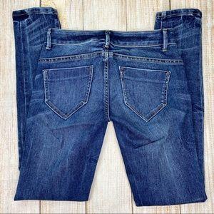 LONDON JEAN Blue VS Siren Skinny Leg Denim Jeans